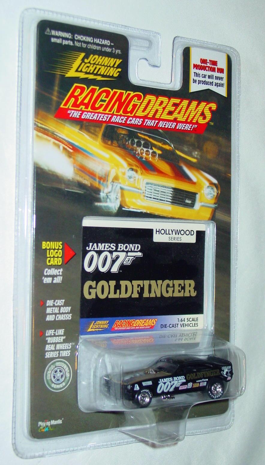 Johnny Lightning - RACING DREAMS HOLLYWOOD Goldfinger 007 Black