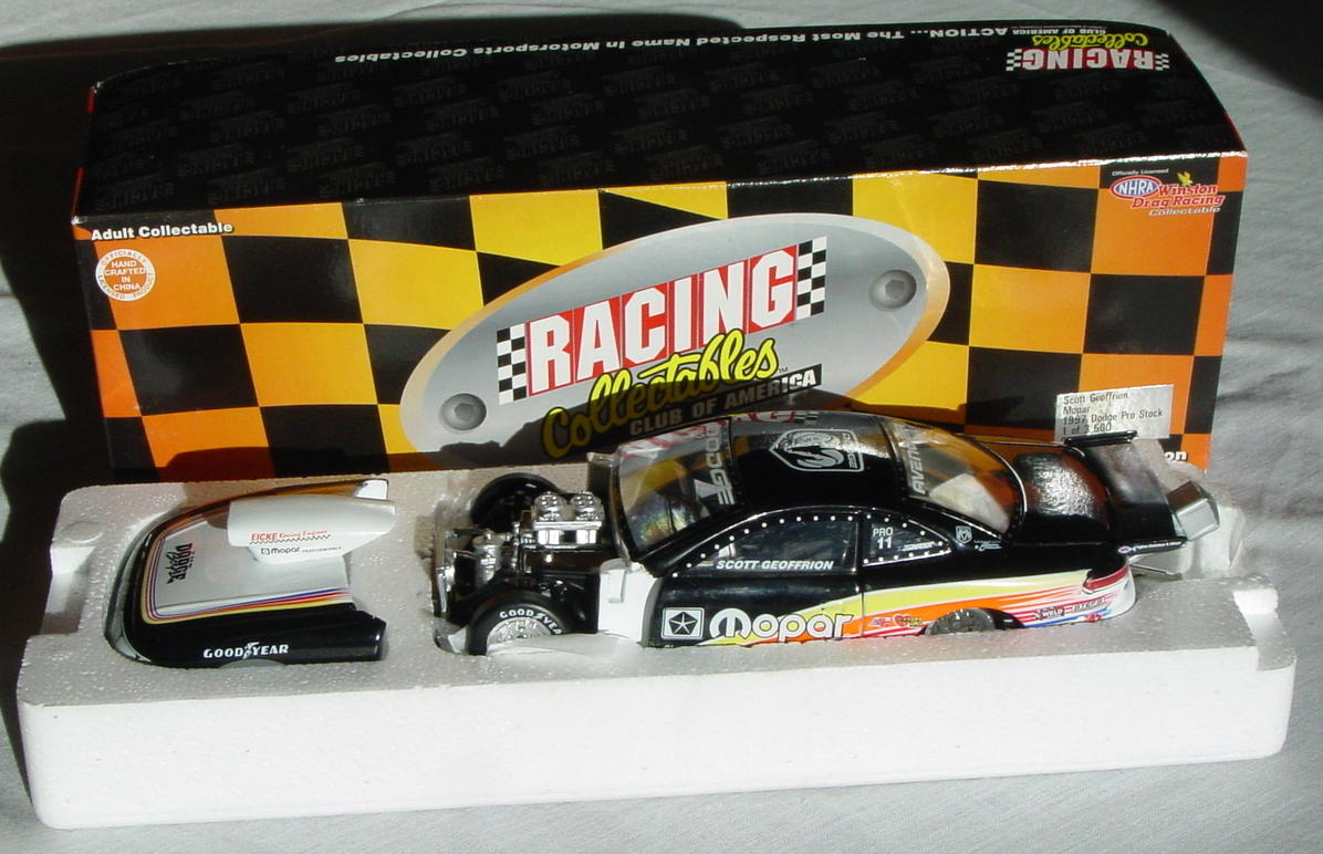 1_24 Scale - ACTION Scott Geoffrion 97 Dodge Pro-Stock 1/3500