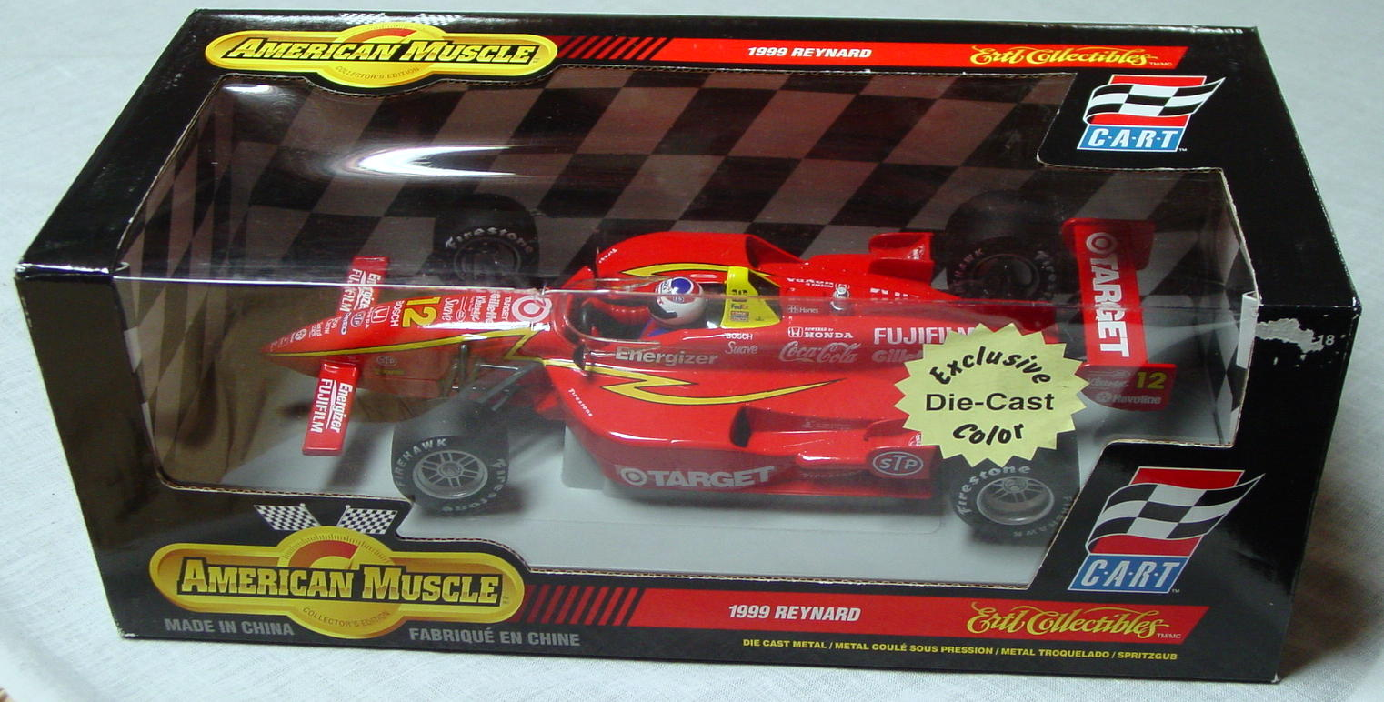 1_18 Scale - ERTL 1999 Reynard C.A.R.T. Red