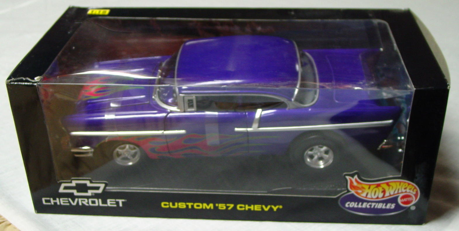1_18 Scale - HW Custom 57 Chevy Purple