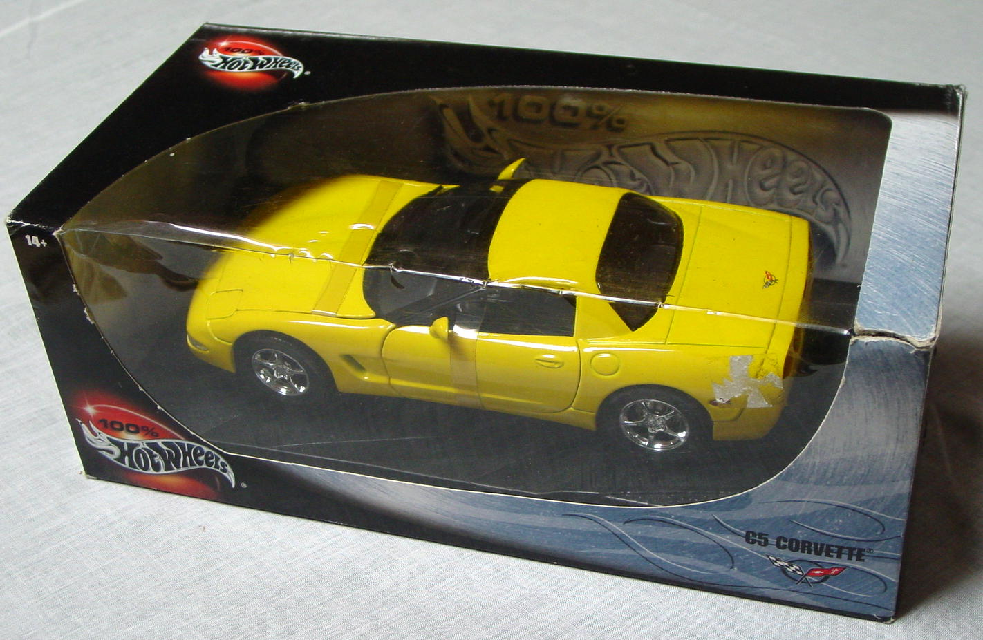 1_18 Scale - HW C5 Corvette Yellow