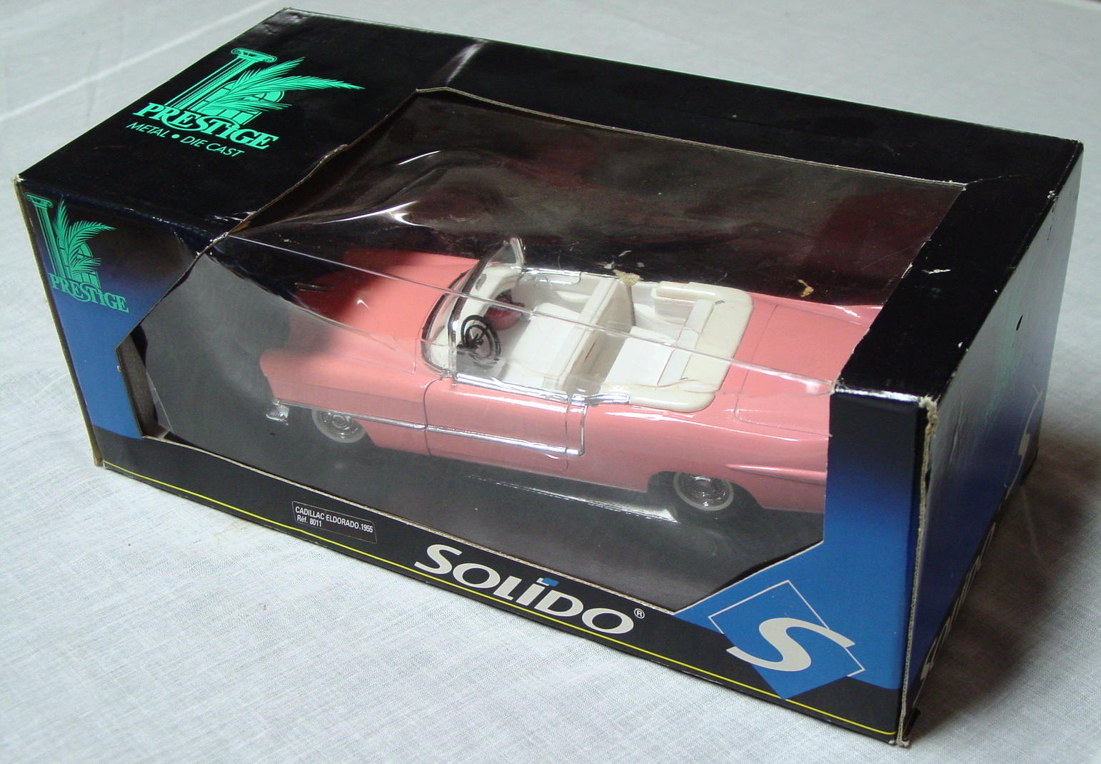 1_18 Scale - SOLIDO 55 Caddy Eldorado Conv Pink