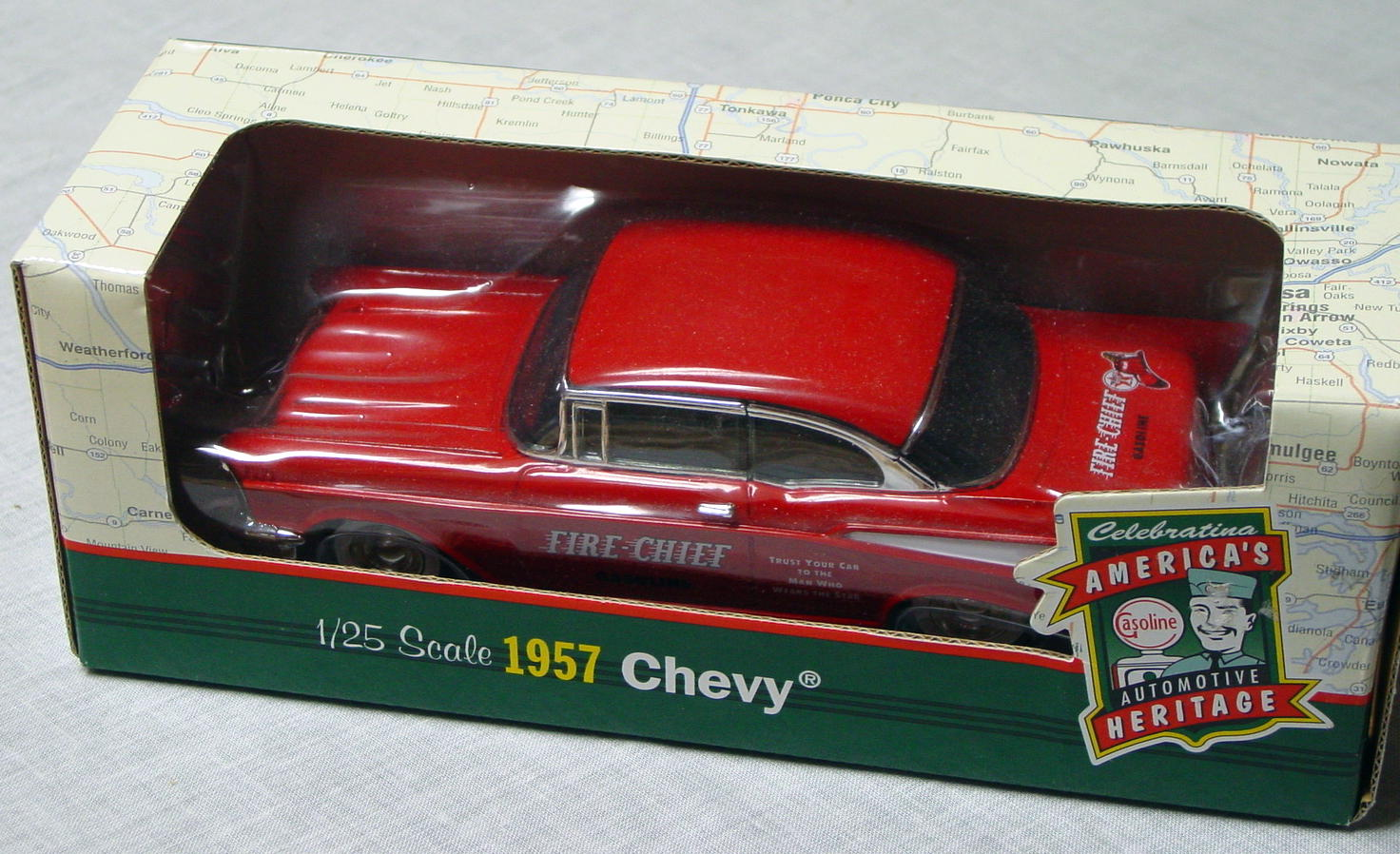 1_24 Scale - ERTL 57 Chevy Fire Chief Gas