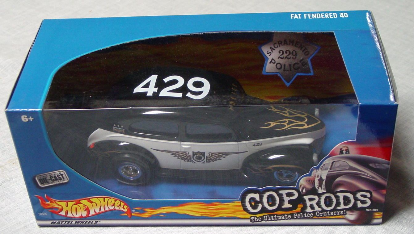 1_24 Scale - HW Cop Rods Fat Fendered 40 Scaramento