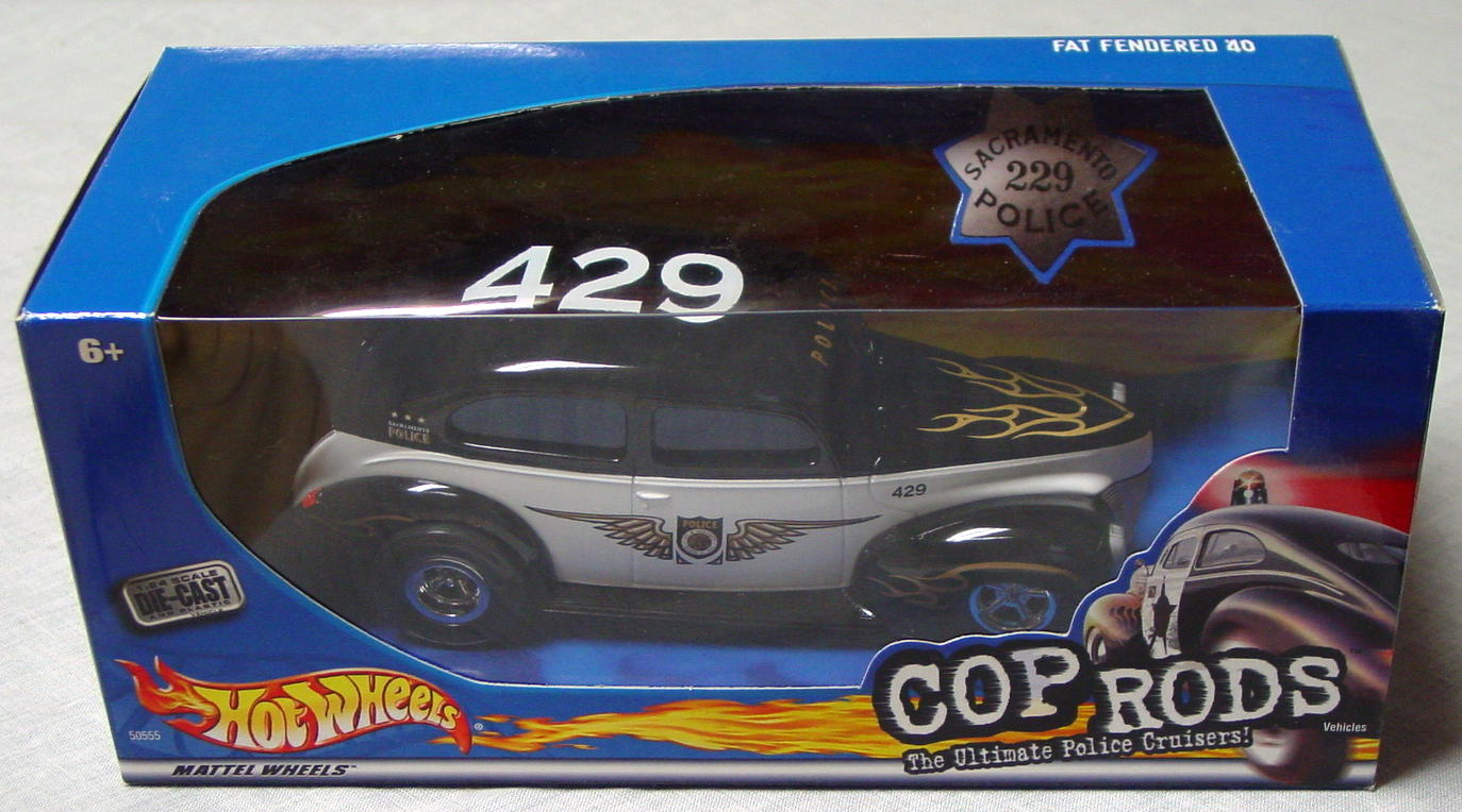 1_24 Scale - HW Cop Rods Fat Fendered 40 Sacramento