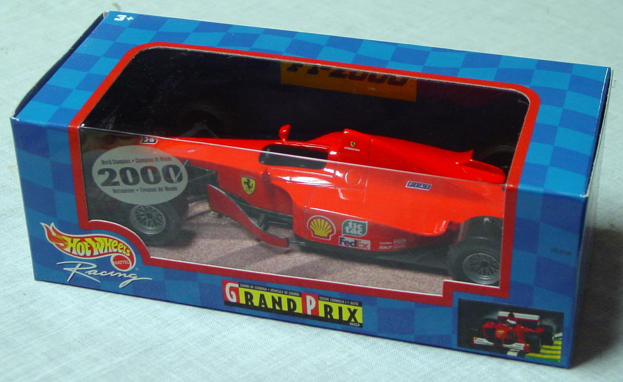 1_24 Scale - HW Racing Grand Prix Racer Org-Red 3
