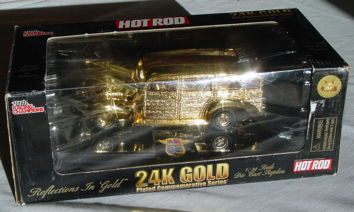 1_24 Scale - RC 24K Gold 1/4998 40s Woodie