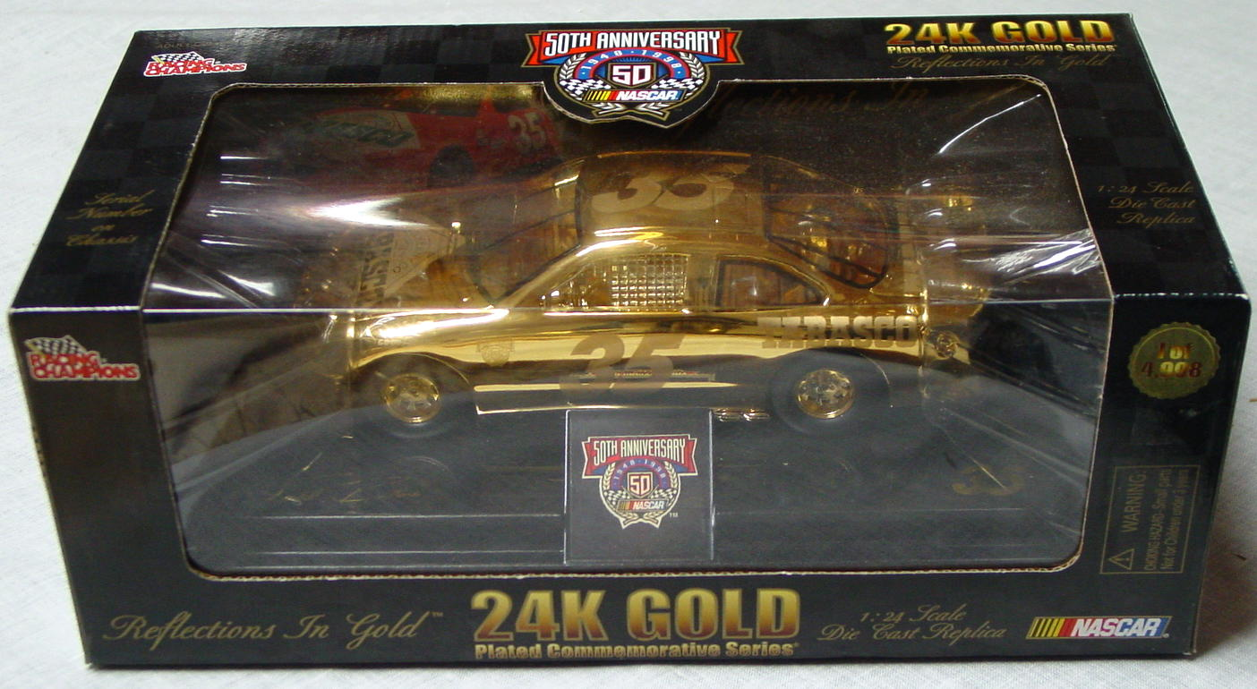 1_24 Scale - RC 24K Gold 1/4998 Todd Bodine 35