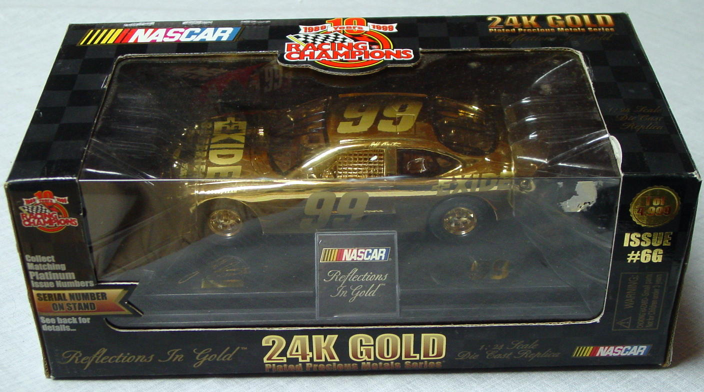 1_24 Scale - RC 24K Gold 1/4998 Jeff Burton 99 1797