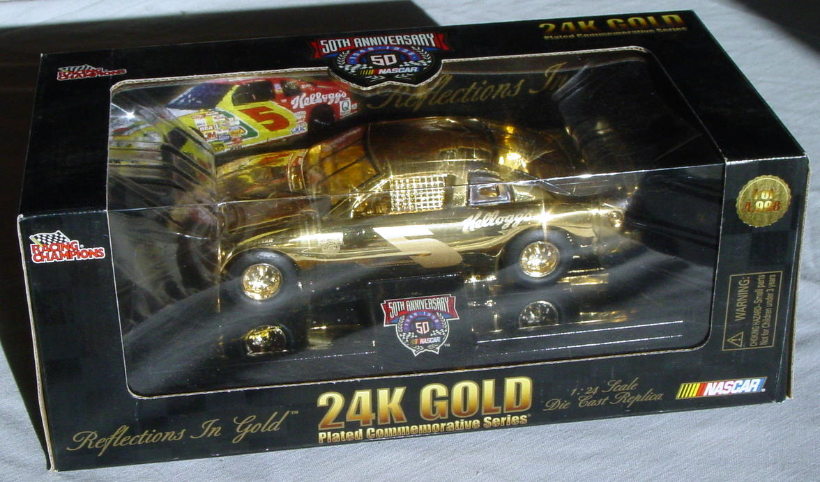 1_24 Scale - RC 24K Gold 1/4998 Terry Labonte 5