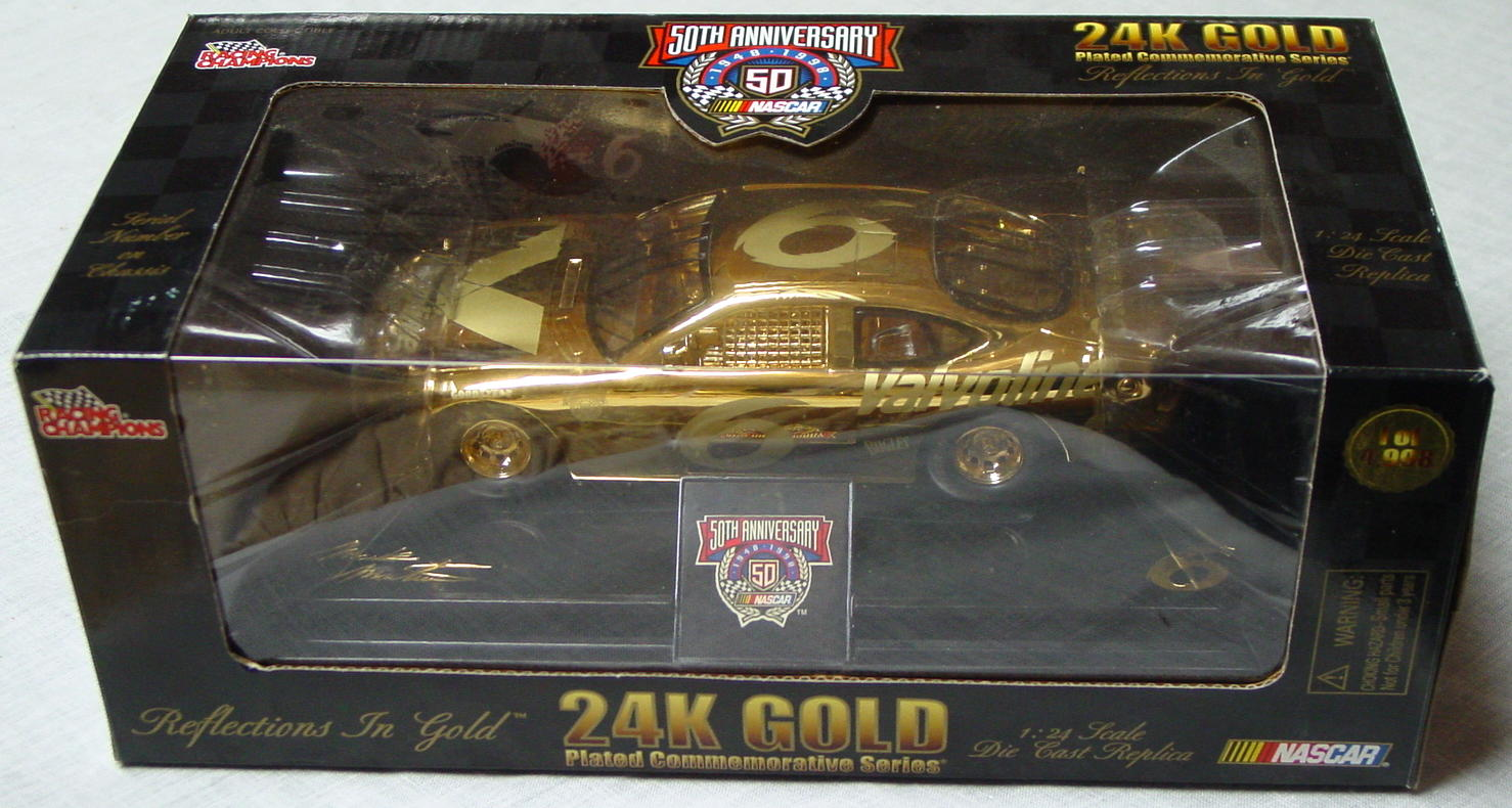 1_24 Scale - RC 24K Gold 1/4998 Mark Martin 6