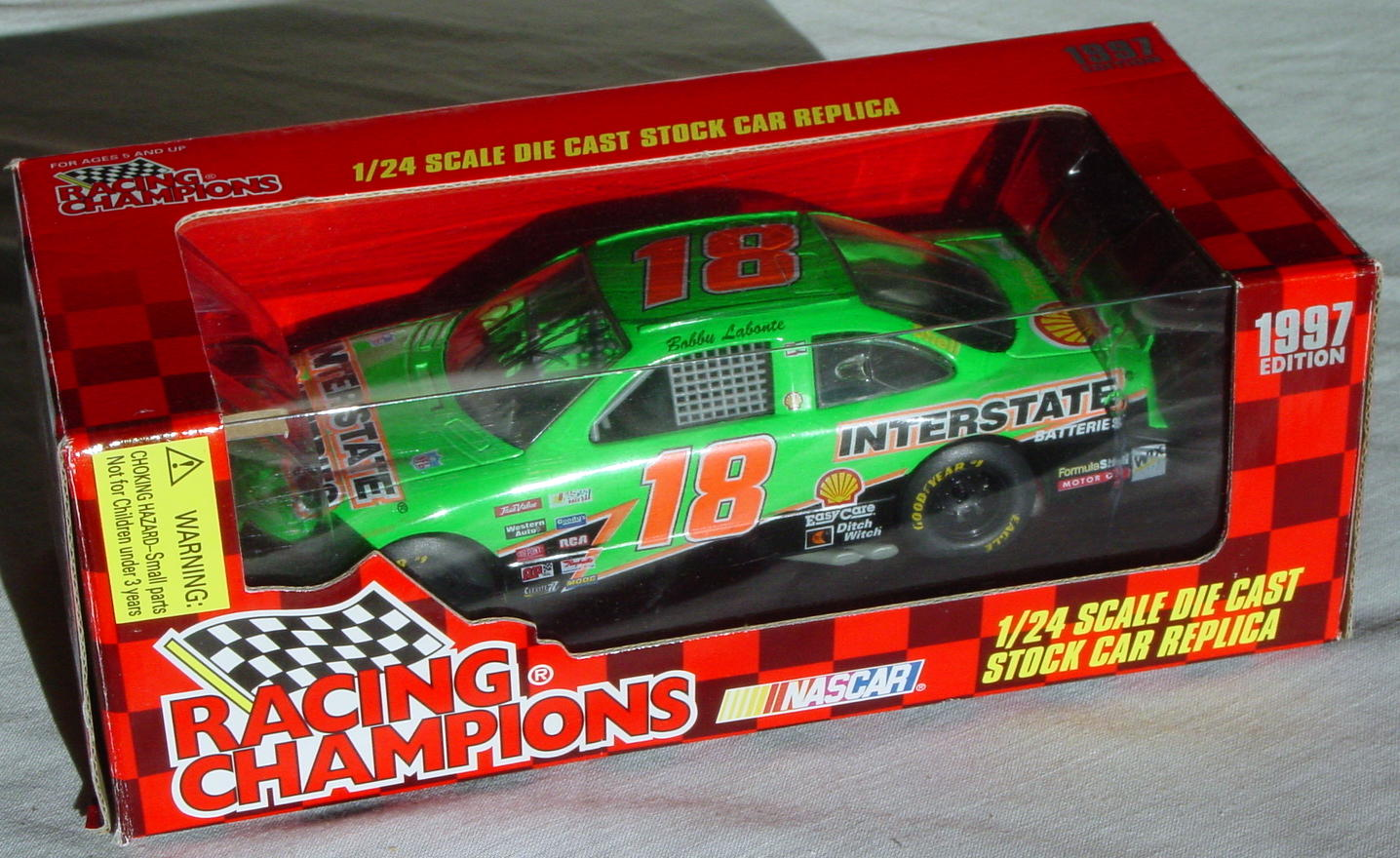 1_24 Scale - RC 1997 Edition Bobby LaBonte AUTOGRAPH!!!