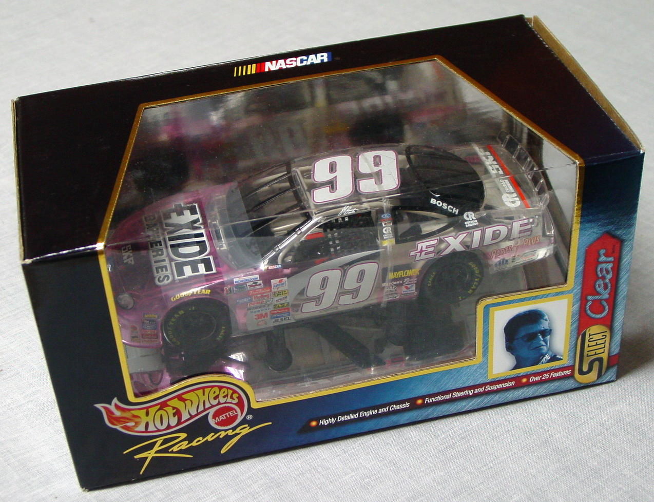 1_24 Scale - HW Jeff Burton Select CLEAR 99