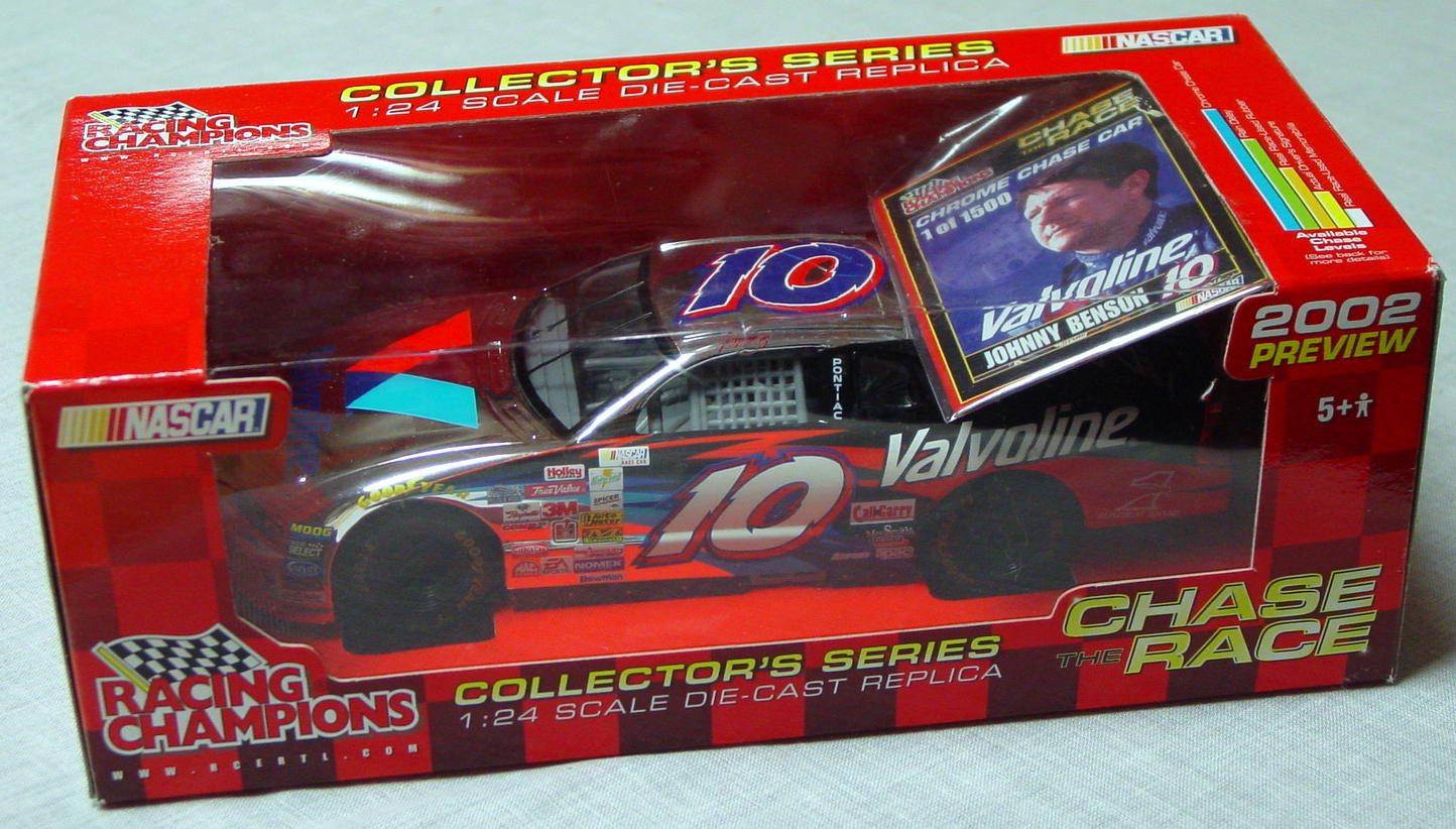 1_24 Scale - RC Chrome Chase Johnny Benson