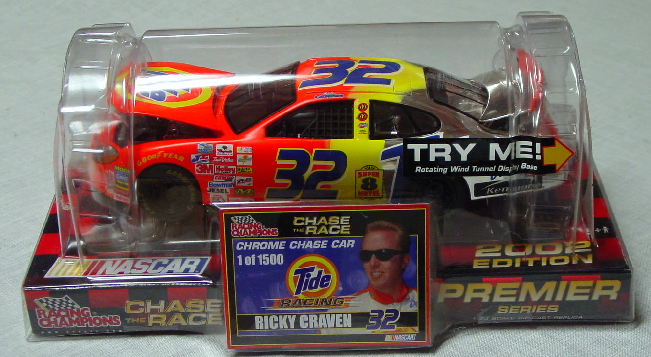 1_24 Scale - RC Chrome Chase Ricky Craven 1/1500