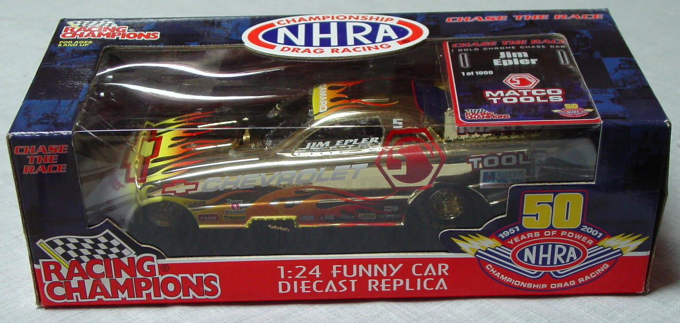 1_24 Scale - RC Chase Car Jim Epler Funny Car 1/1000