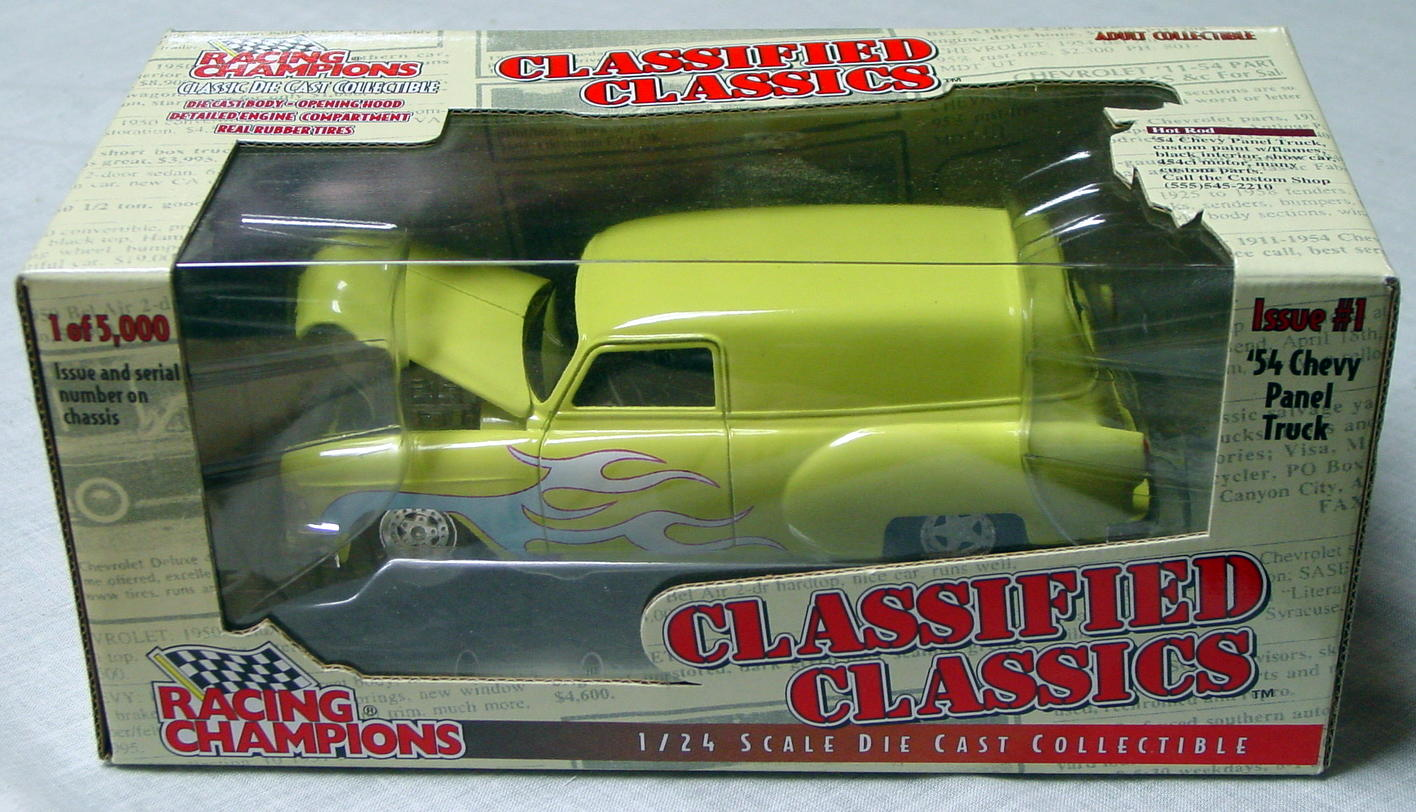 1_24 Scale - RC Class. Classics 54 Chevy Panel Truck 1/5000