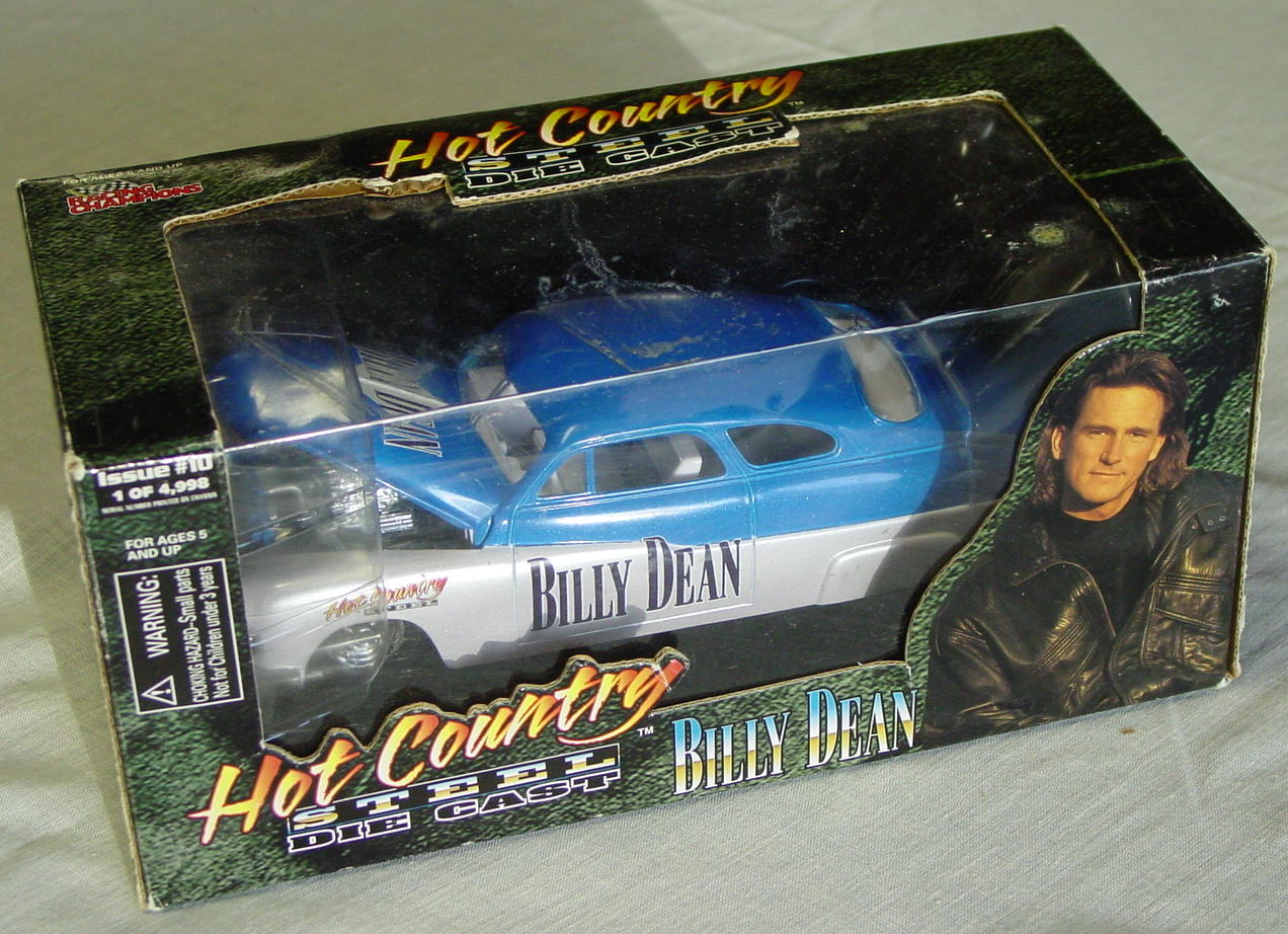 1_24 Scale - RC Hot Country Billy Dean blue and silver chopped 50 Merc?