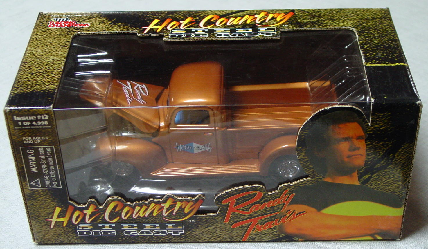 1_24 Scale - RC Hot Country Randy Travis 1/4998 40s Pickup