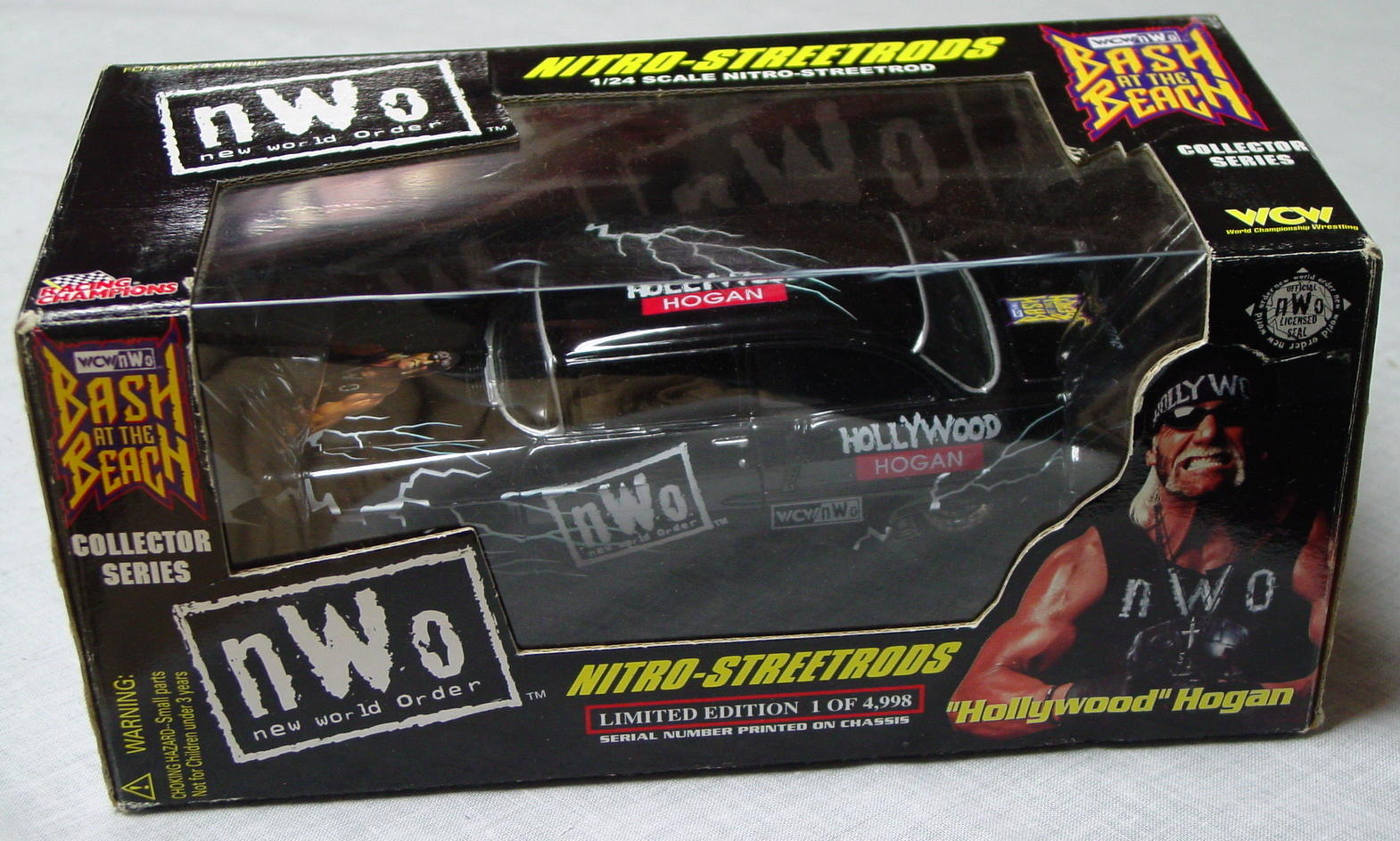 1_24 Scale - RC Hollywood Hogan Black Street Rod 1/4998