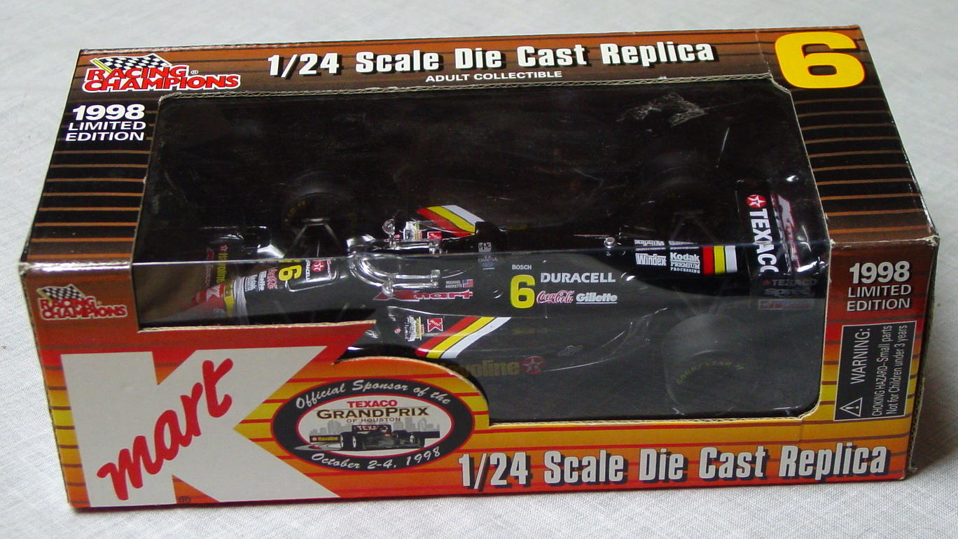 1_24 Scale - RC K-MART Texaco Grand Prix Racer Black 6