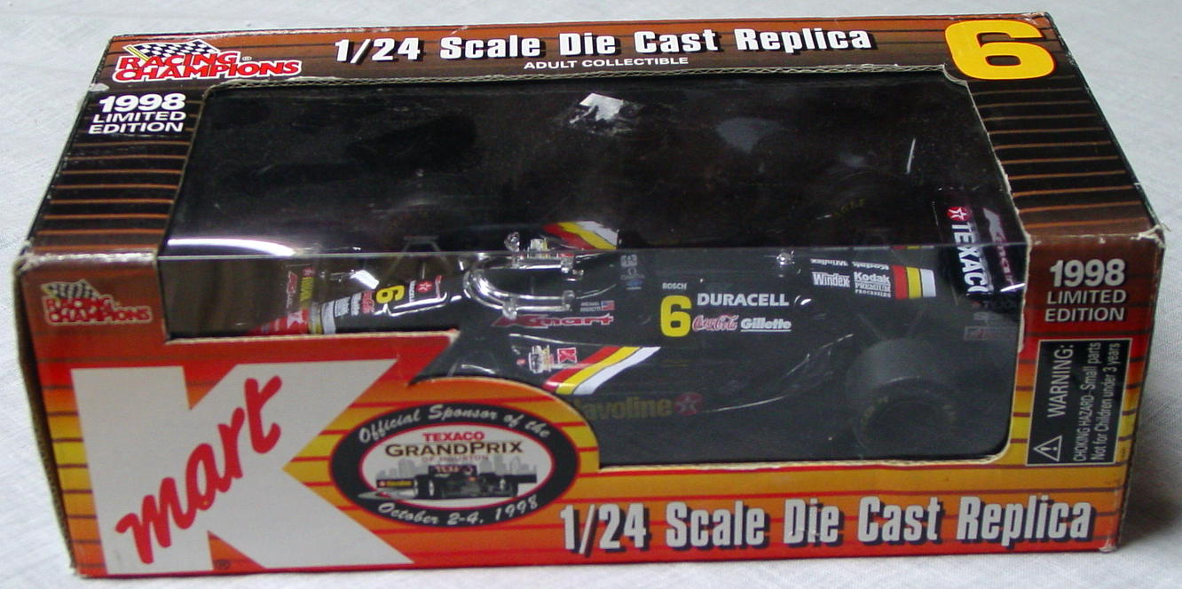1_24 Scale - RC Grand Prix Texaco K-Mart Black