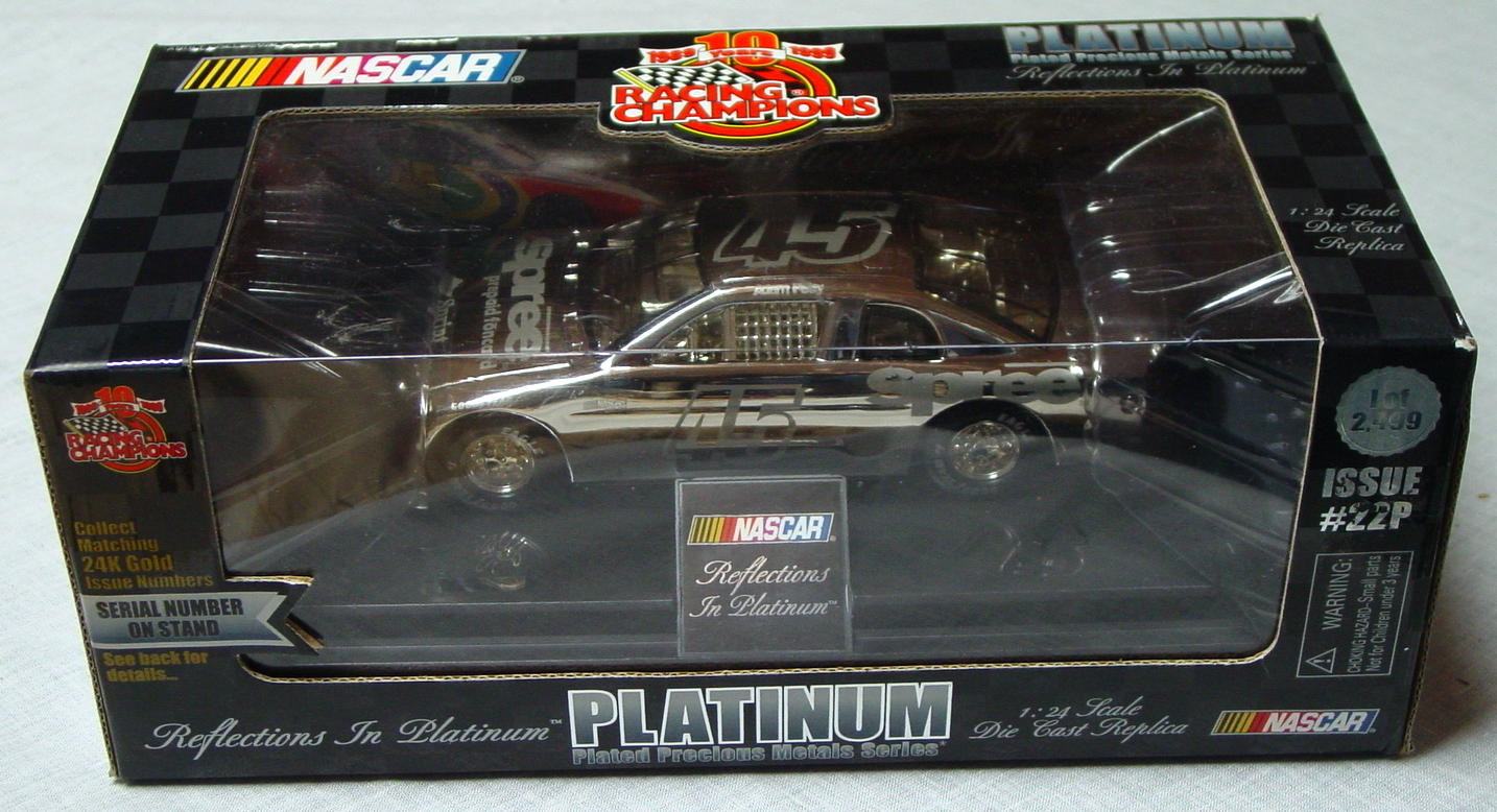 1_24 Scale - RC Platinum 1/2499 Adam Petty 45 No 0888