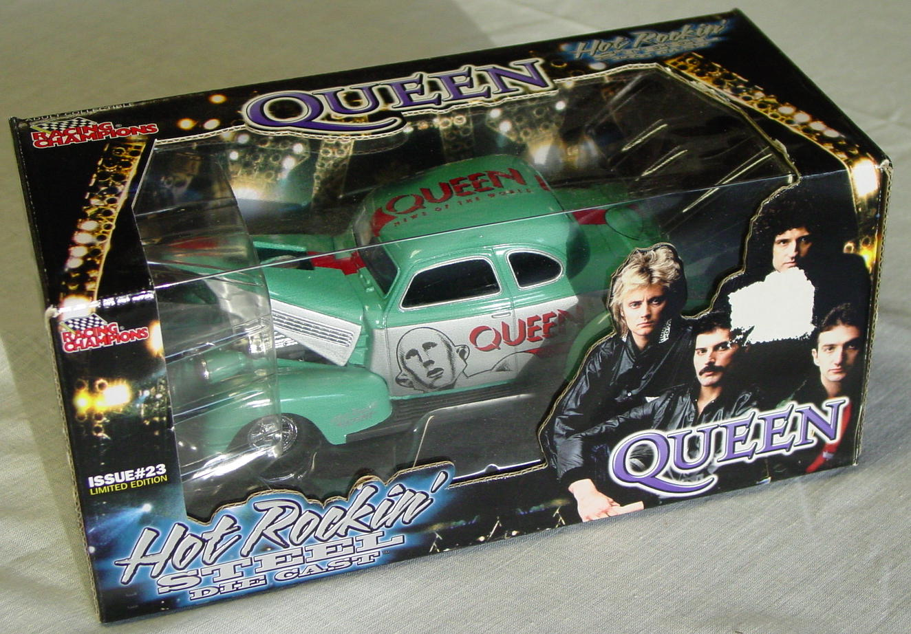 1_24 Scale - RC Queen No 23 Aqua Roadster