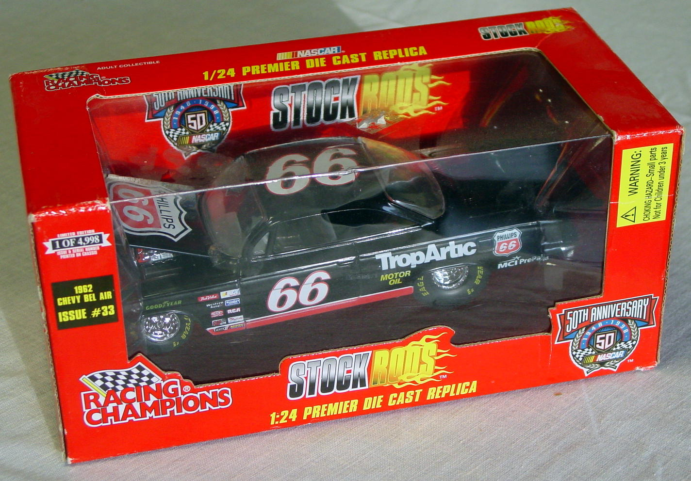 1_24 Scale - RC Stock Rods 62 Chevy Bel Air black 1/4998