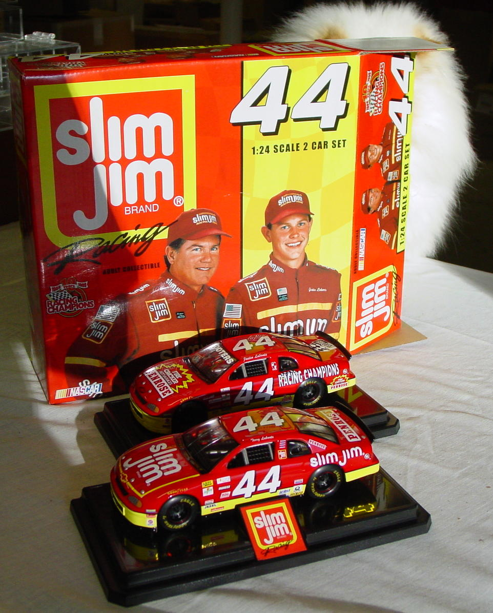 1_24 Scale - RC Slim Jim 2-piece 44 Father/Son Labonte 1/2999