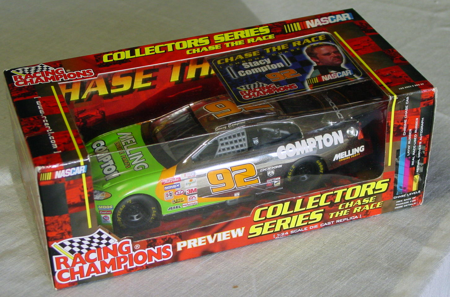 1_24 Scale - RC Stacy Compton Chrome Chase