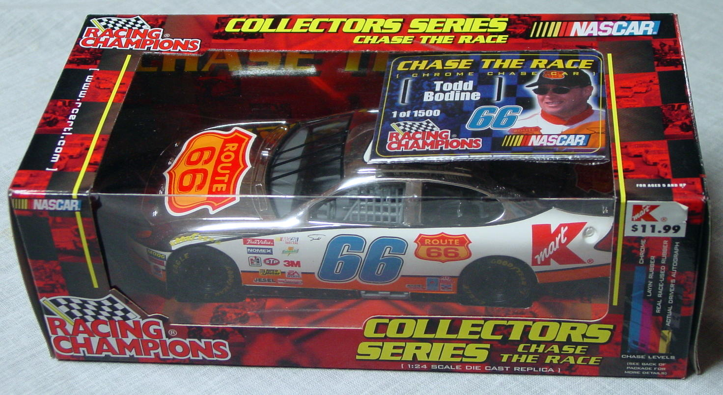 1_24 Scale - RC Chrome Chase Bodine RT66 1/1500