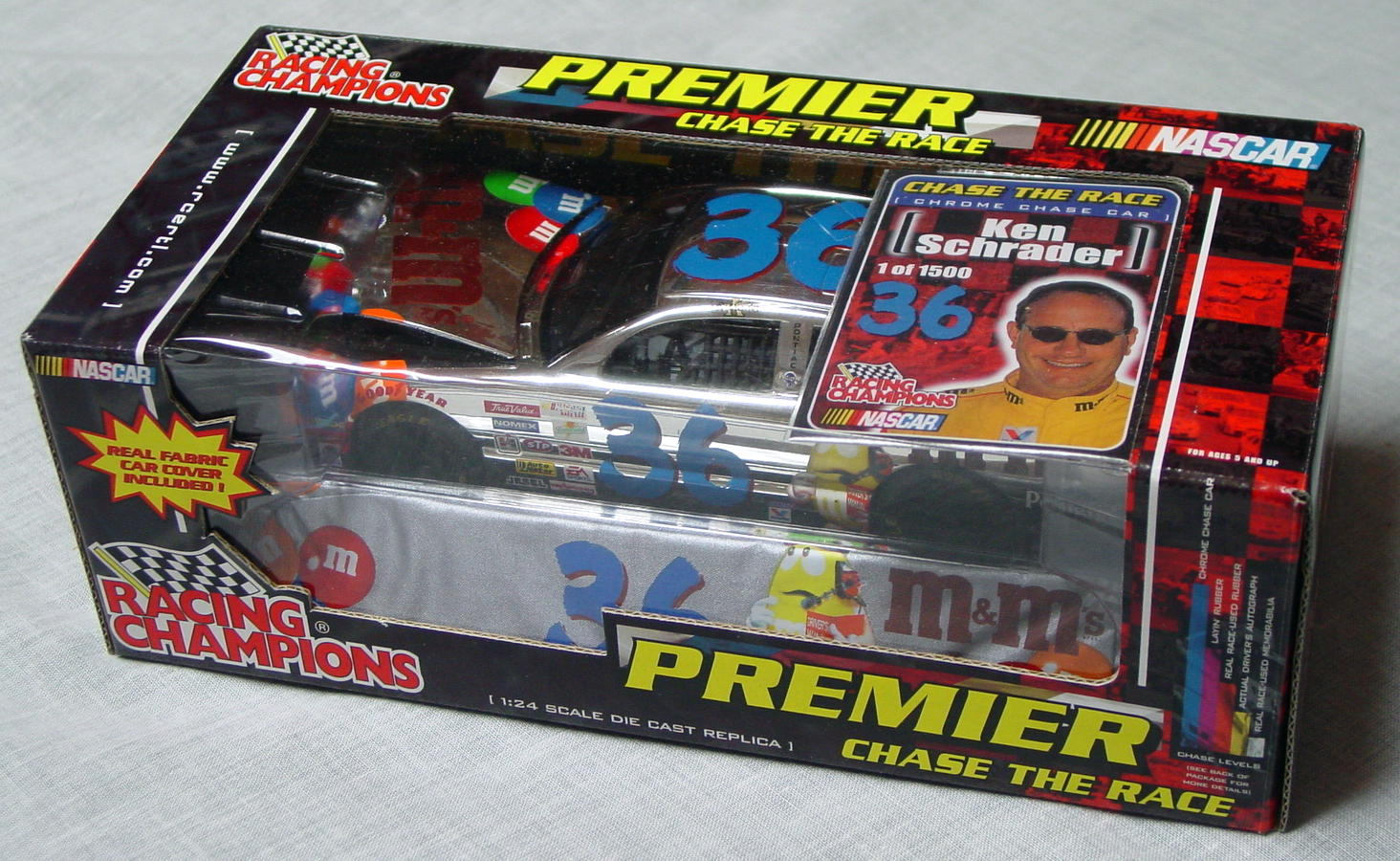 1_24 Scale - RC Chrome Chase Ken Schrader 1/1500
