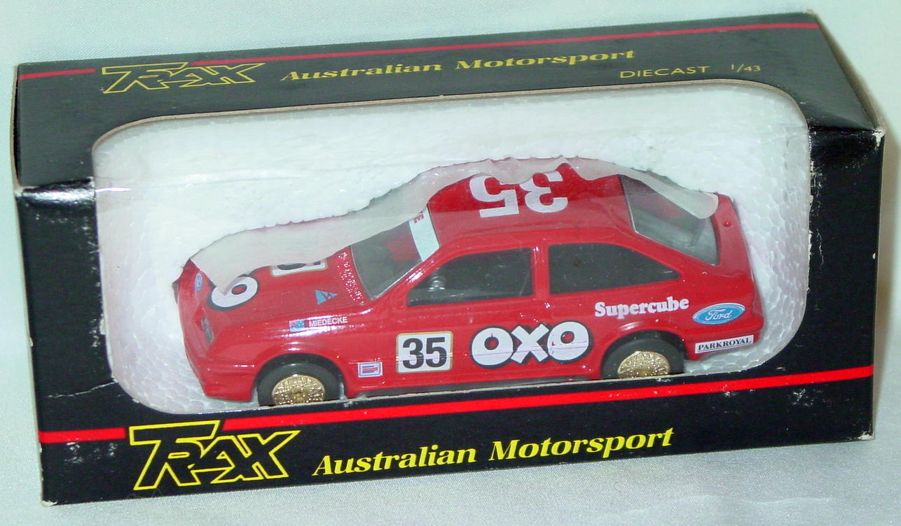 43 - TRAX 8022 Ford Sierra Cosworth OXO 35 Red
