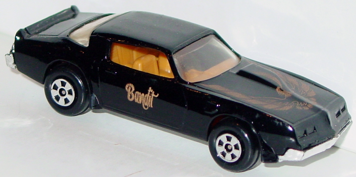 64 - ERTL REPLICA Turbo Firebird Bandit Black