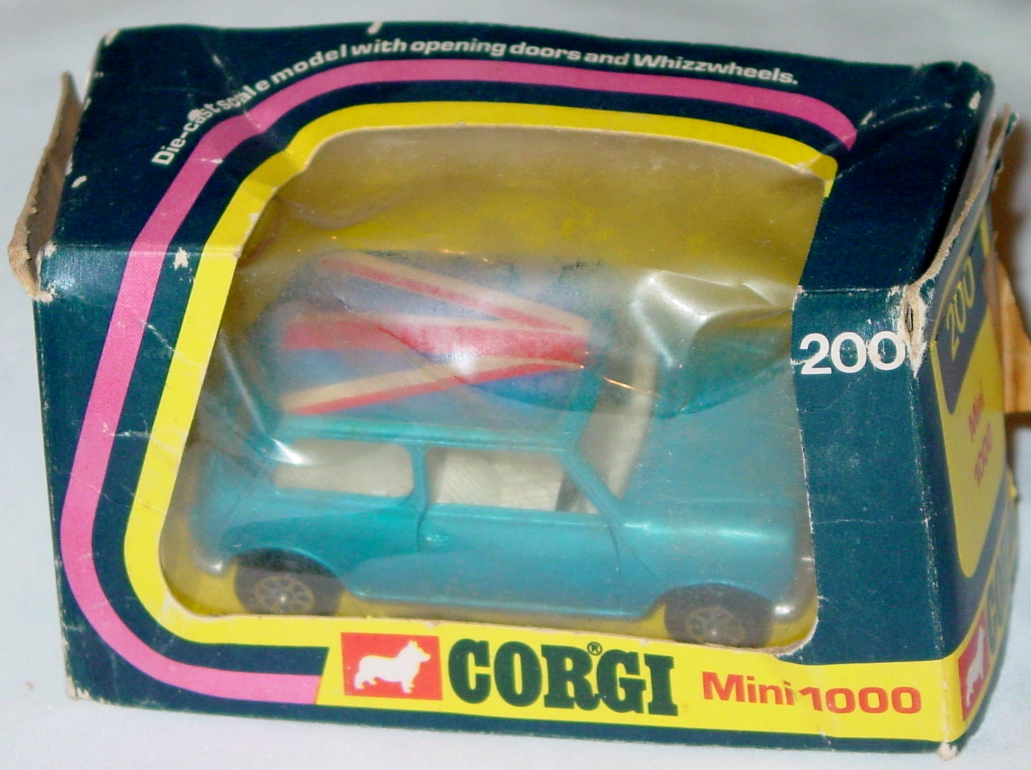 Corgi 200 - BLMC Mini Blue C7.5 box