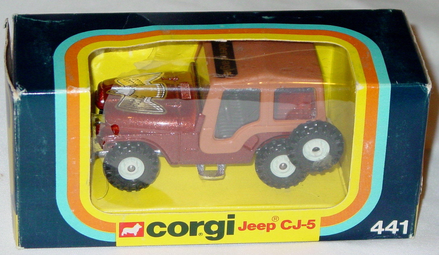 Corgi 441 - Jeep CJ5 brown