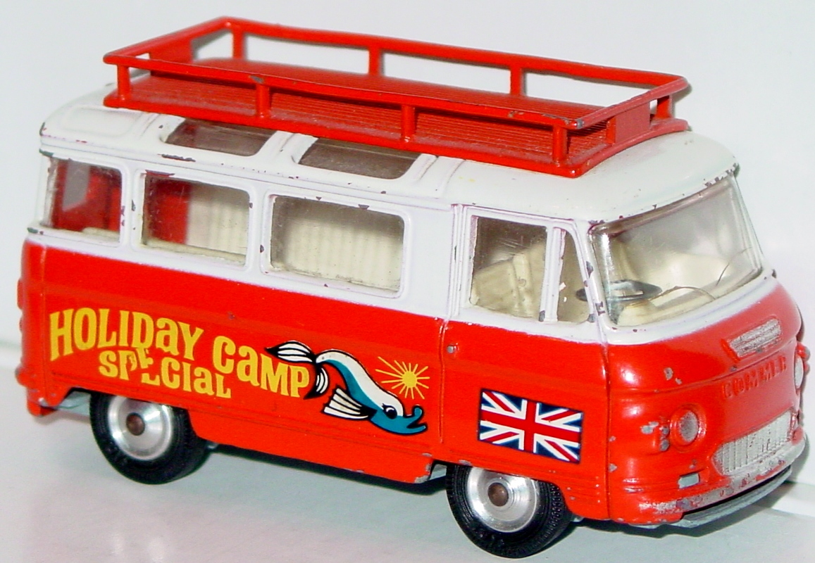 Corgi 508 - Commer Holiday Camp Special