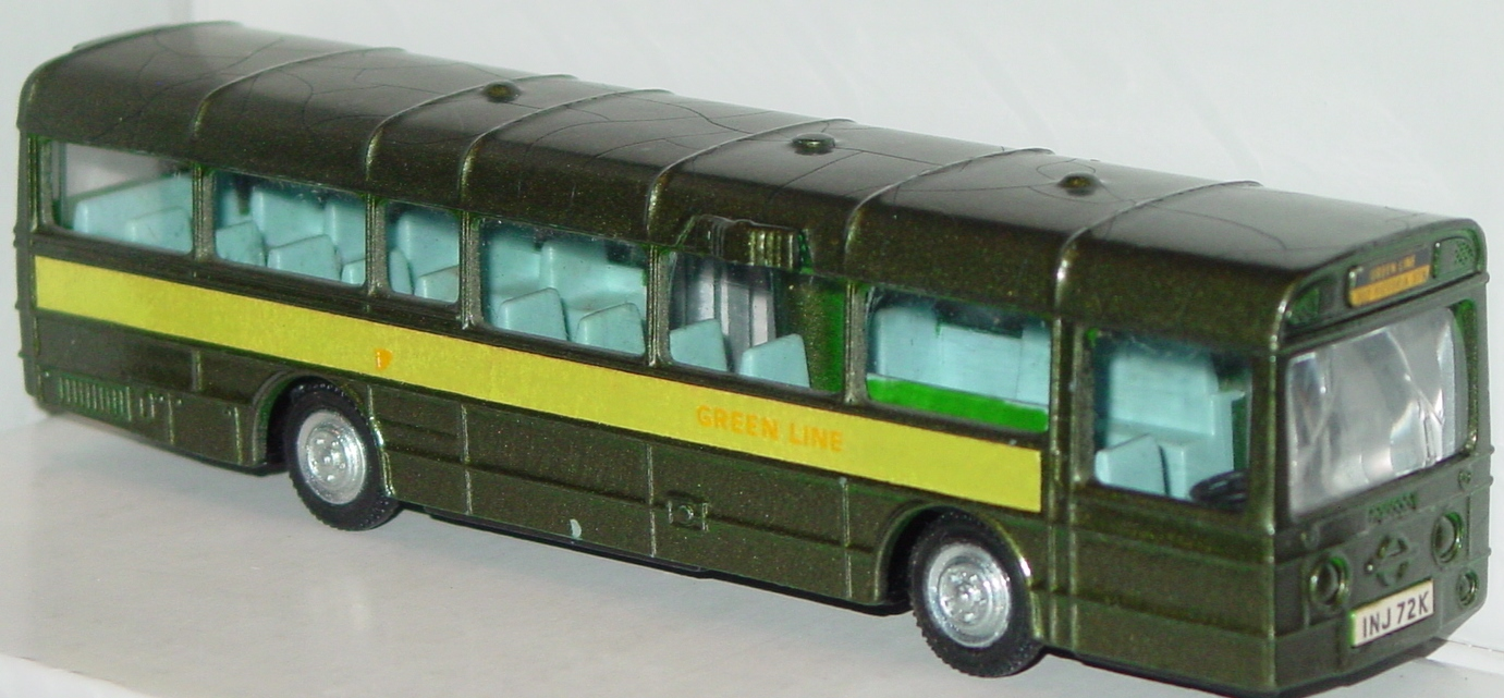 Dinky 1023 - AEC Single-decker Bus Green Line