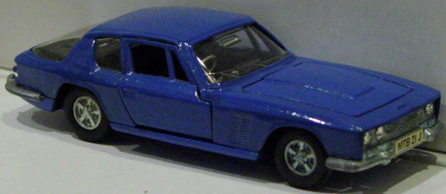Dinky 188 - Jensen FF Blue built kit car