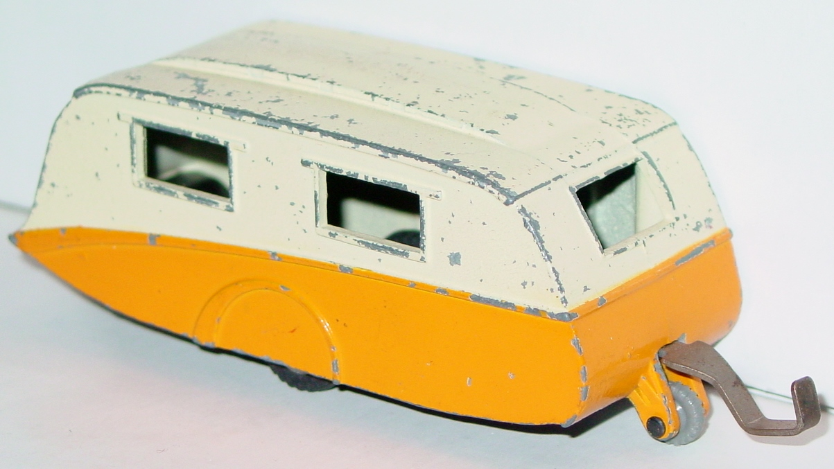 Dinky 190 - Caravan Cream and orange