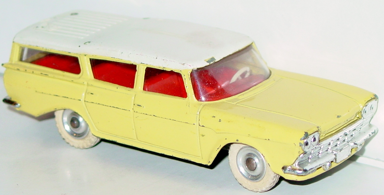 Dinky 193 - Rambler Cross Country yellow and white -roof rack