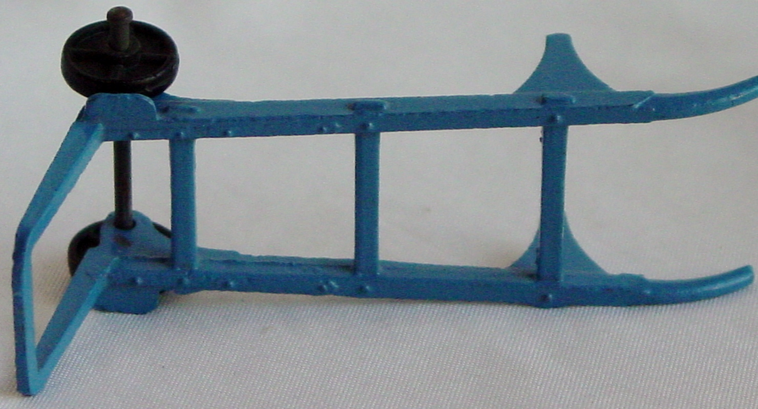 Dinky 107 A - Sack Truck Blue