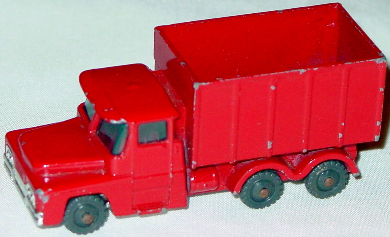 Husky-Corgi Jr 10 A 1 - HUSKY Coal Truck red no top