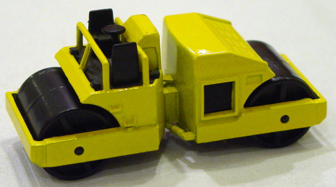 Blackwalls 3853 A 3 - Cat Road Roller Yellow no tampo loose roller