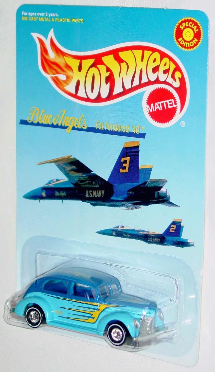 New Hot Wheels - BLUE ANGELS Fat Fendered 40