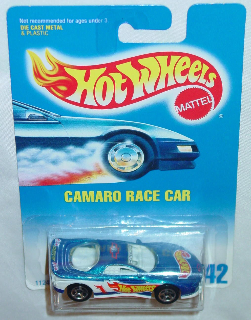 Blackwalls 11243 - 242 Camaro Race Car met blue SP5