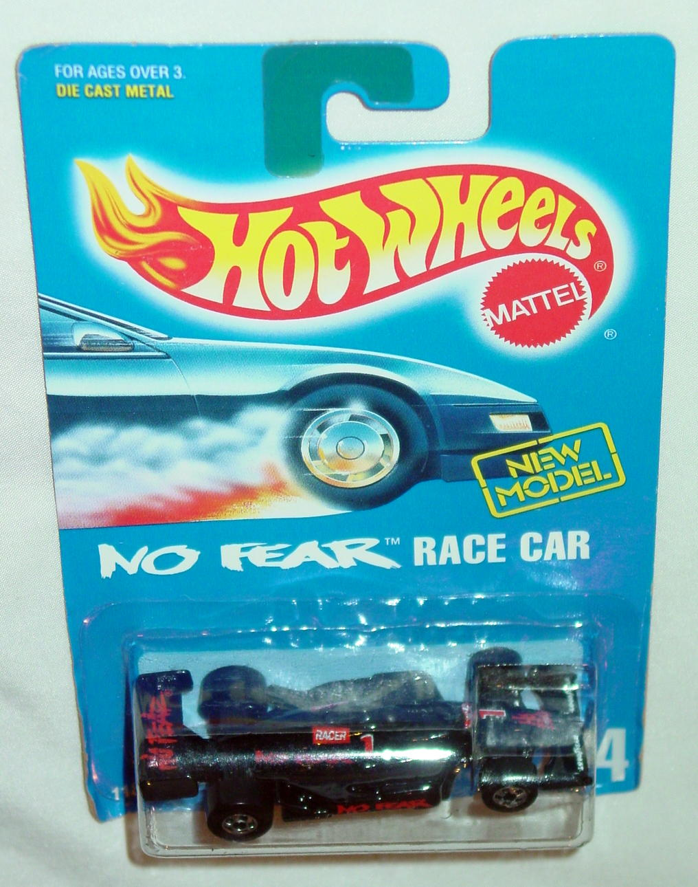 Blackwalls 11846 - 244 No Fear Racer Black black wheels NEW MODEL C9