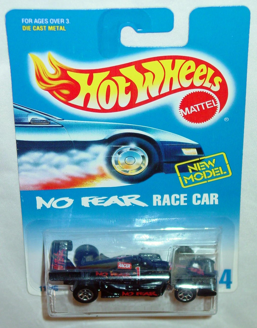 Blackwalls 11846 - 244 No Fear Racer Black SP7 NEW MODEL