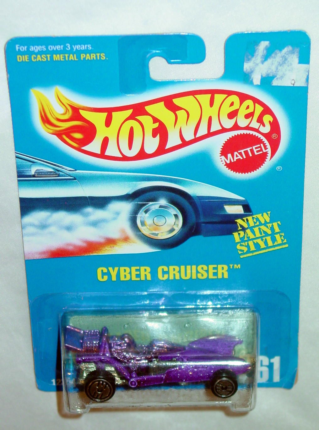 Blackwalls 12354 A - 261 Cyber Cruiser Purple UH C9 Card
